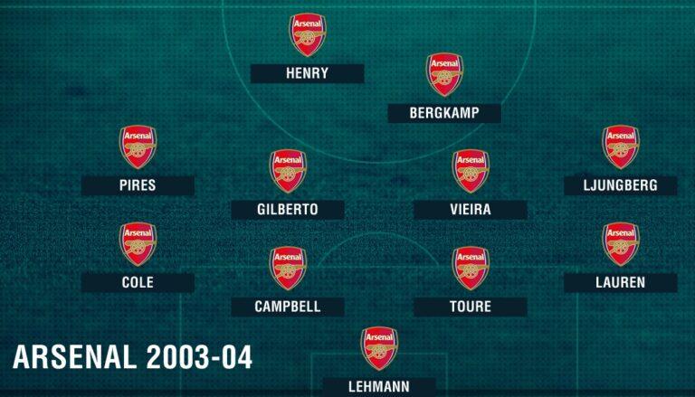 L'importanza di essere invincibili: nessuno come l'Arsenal del 2003/04