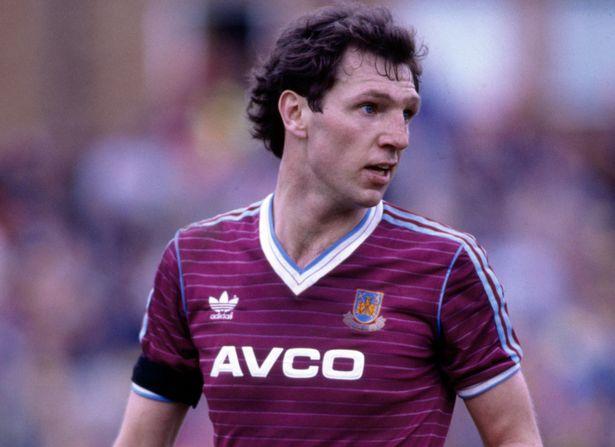Alvin Martin è il capitano di quel West Ham