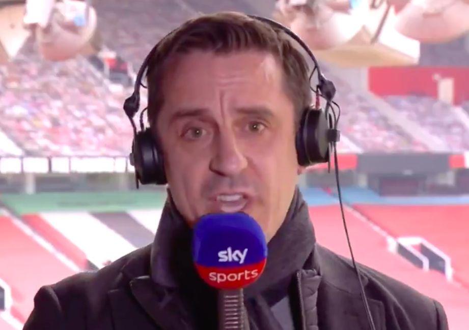 Gary Neville infuriato per la Superlega