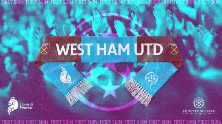 Martelli incrociati, claret and blue: West Ham