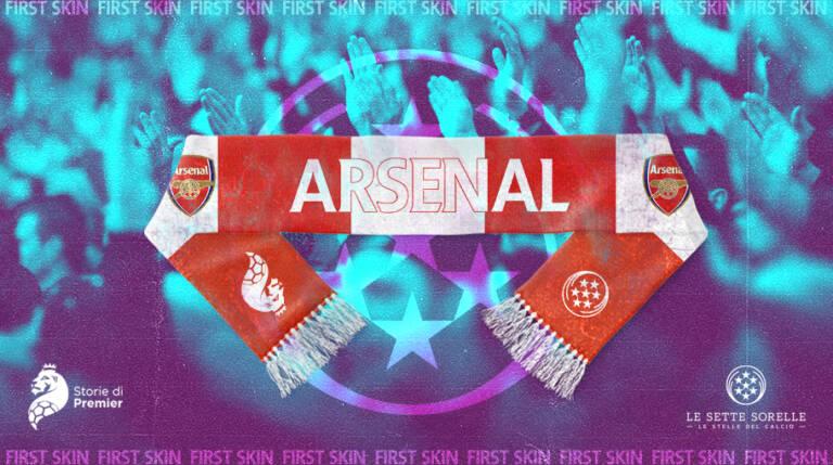 La tuta vintage dell'Arsenal 1990/91: dentro una stagione gloriosa